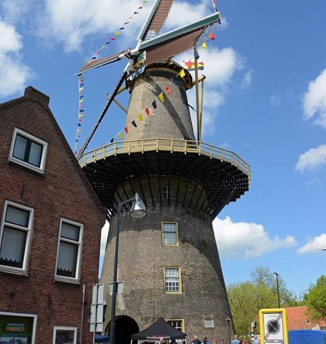 Fietstocht langs 11 molens tijden de Nationale Molendag